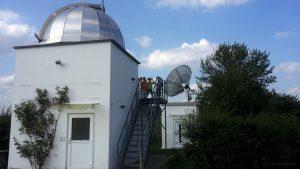 Hans-Haffner-Sternwarte am 27. Juli 2016 um 18:06 Uhr