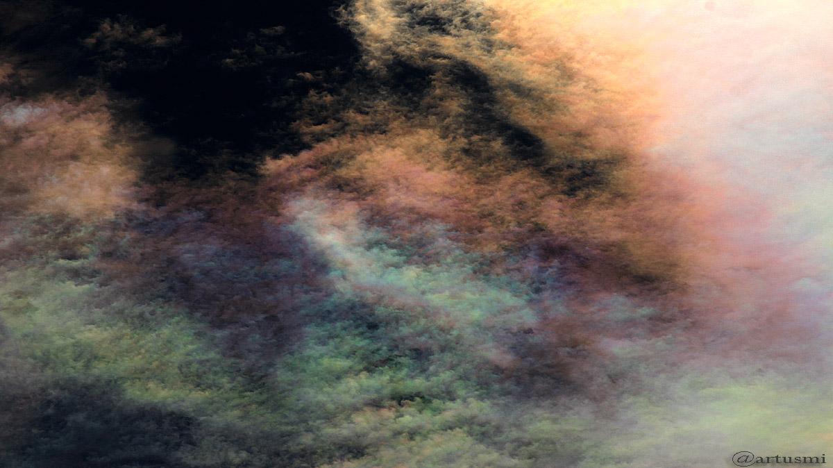 Irisierende Wolken am 29. Juli 2016 um 16:46 Uhr