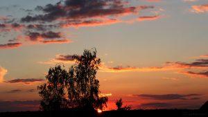Sonnenuntergang am 10. August 2016 um 20:41 Uhr
