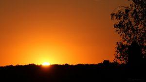 Sonnenuntergang am 23. August 2016 um 20:15 Uhr