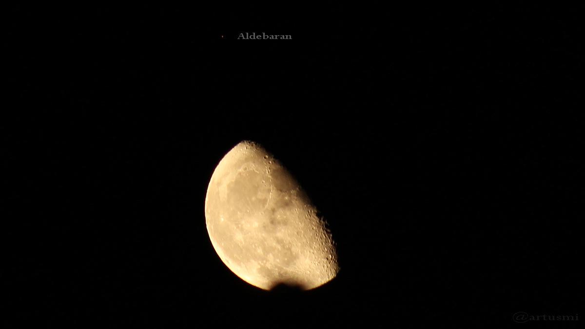 Mond begegnet Aldebaran – Sternbedeckungen – Herbstanfang