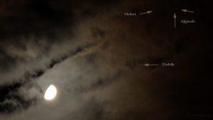 Mond im Sternbild Steinbock - 10. Oktober 2016, 21:48 Uhr