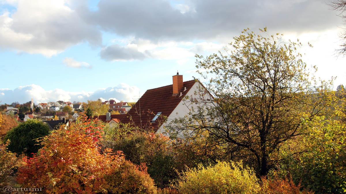 Herbstimpressionen Oktober/November 2016