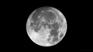 Der Mond am 14. November 2016 um 01:52 Uhr