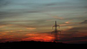 Westhimmel nach dem Sonnenuntergang - 14. November 2016 um 16:44 Uhr