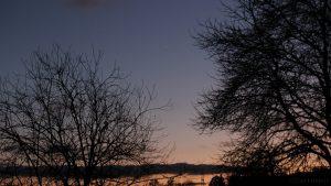 Venus als Abendstern am Südwesthimmel - 28. November 2016, 16:57 Uhr
