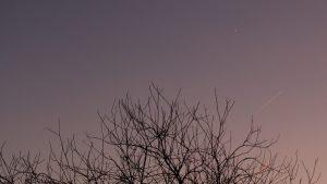 Venus als Abendstern am Südwesthimmel - 10. Dezember 2016, 16:48 Uhr