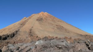 Gipfel des Teide auf Teneriffa
