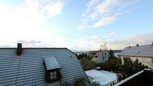 Blick Richtung Westen am 4. Januar 2017 um 15:30 Uhr