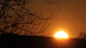 Sonnenuntergang am 26. Januar 2017 um 16:45 Uhr