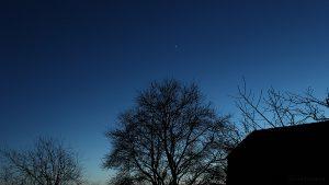Mars und Venus am 27. Januar 2017 um 17:50 Uhr