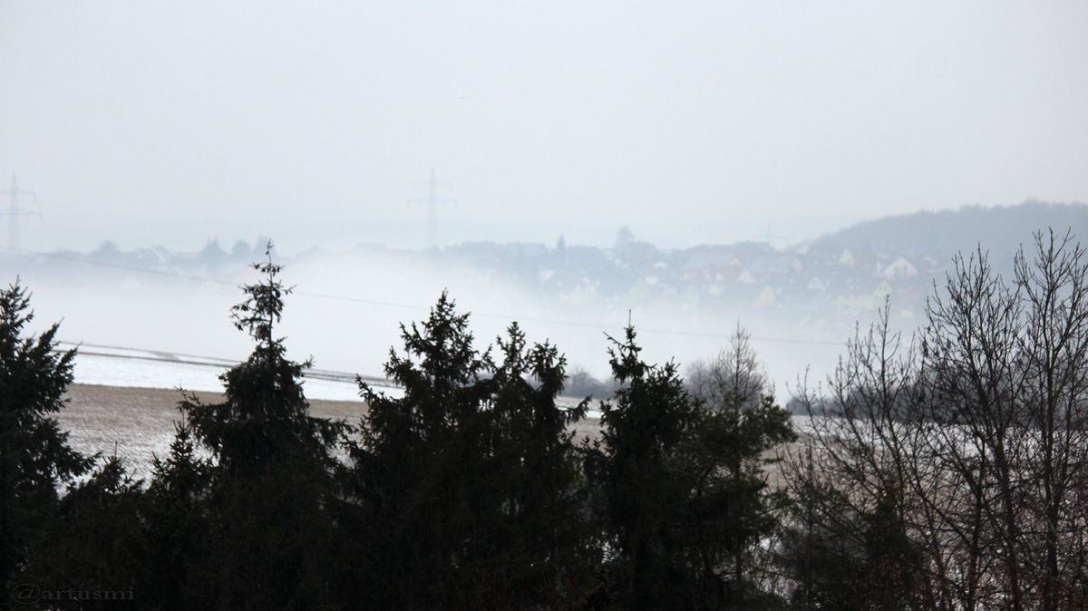 Rund 120 Verkehrsunfälle bei Eisregen in Unterfranken