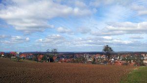 Klare Sicht auf Eisingen am 10. März 2017 um 13:01 Uhr