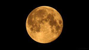 Abnehmender Mond am 13. März 2017 um 05:50 Uhr