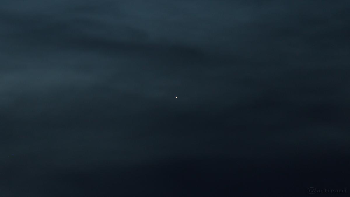 Merkur am 23. März 2017 um 19:23 Uhr