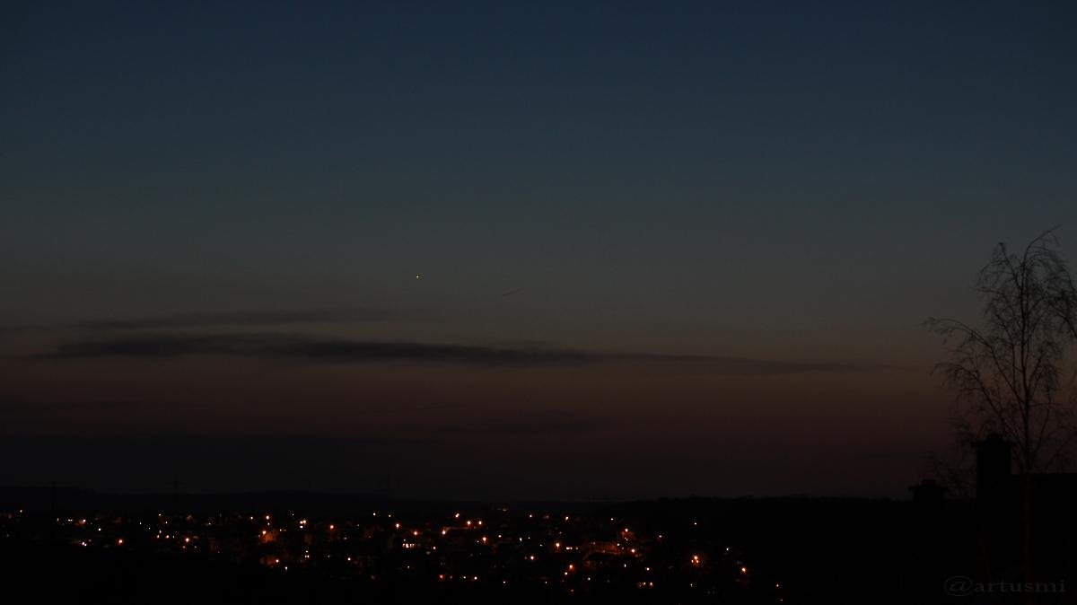 Merkur am 24. März 2017 um 19:36 Uhr