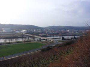 Blick nach Goßmannsdorf