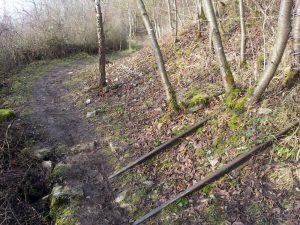 Gleise am Panorama-Höhenweg
