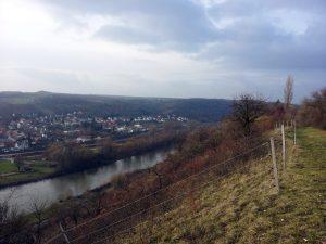 Blick auf Goßmannsdorf