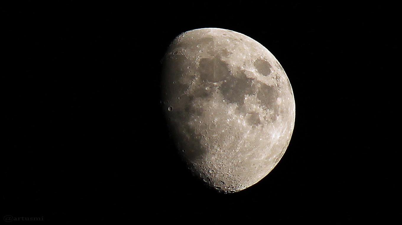 Mond und Sternhimmel am 5. Mai 2017