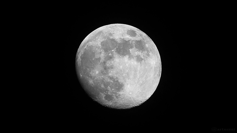 Zunehmender Mond am 8. Mai 2017 um 22:25 Uhr
