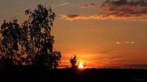 Sonnenuntergang am 9. Mai 2017 um 20:42 Uhr