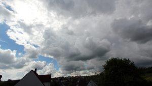 Lokales Gewitter am 13. Mai 2017 um 10:50 Uhr