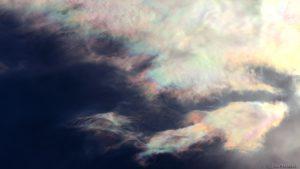 Irisierende Wolken - 13. Mai 2017, 18:41 Uhr