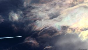 Irisierende Wolken - 13. Mai 2017, 18:43 Uhr