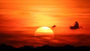 Sonnenuntergang am 15. Mai 2017 um 20:49 Uhr