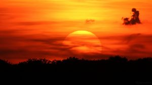 Sonnenuntergang am 15. Mai 2017 um 20:50 Uhr