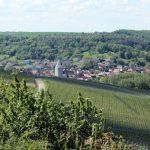Blick vom Panoramahöhenweg nach Goßmannsdorf