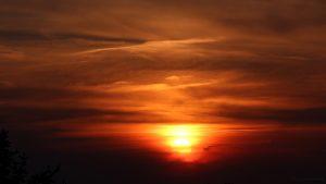 Sonnenuntergang am 22. Mai 2017 um 20:53 Uhr