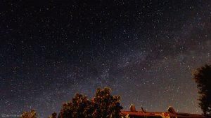 Die Milchstraße am 26. Mai 2017 um 01:58 Uhr am Osthimmel von Eisingen