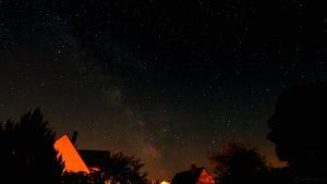 Die Milchstraße am 27. Mai 2017 um 02:30 Uhr am Südhimmel von Eisingen