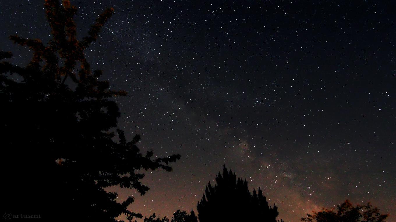 Die Milchstraße am 27. Mai 2017 um 02:43 Uhr am Südosthimmel von Eisingen