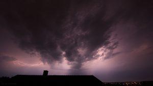 Gewitter am 30. Mai 2017 um 01:09 Uhr