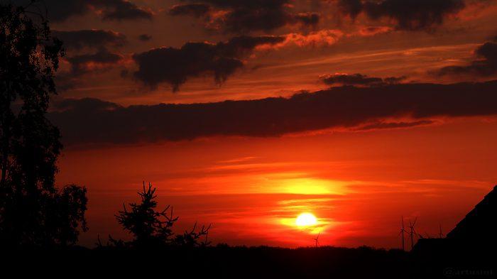 Sonnenuntergang am 1. Juni 2017 um 21:08 Uhr