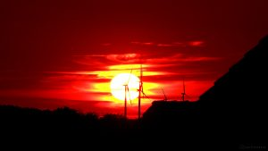 Sonnenuntergang am 14. Juni 2017 um 21:20 Uhr