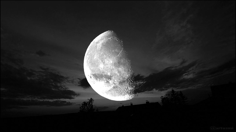 Moon Landscape WebArt - 15./16. Juni 2017