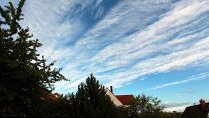 Wolkenformation am 29. Juni 2017 um 20:00 Uhr