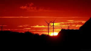 Sonnenuntergang am 3. Juli 2017 um 21:27 Uhr