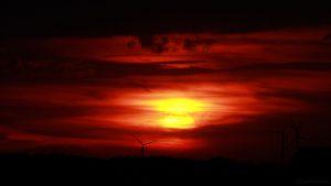 Sonnenuntergang am 7. Juli 2017 um 21:18 Uhr