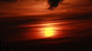Sonnenuntergang am 17. Juli 2017 um 21:01 Uhr