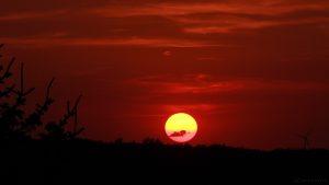 Sonnenuntergang am 18. Juli 2017 um 21:11 Uhr