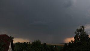 Schweres Gewitter nähert sich von Südwesten - 19. Juli 2017 um 19:56 Uhr