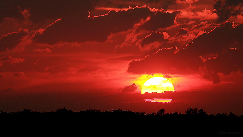 Sonnenuntergang am 21. Juli 2017 um 21:07 Uhr