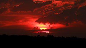 Sonnenuntergang am 21. Juli 2017 um 21:08 Uhr