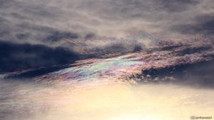 Irisierende Wolken am 2. August 2017 um 19:26 Uhr