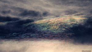 Irisierende Wolken am 2. August 2017 um 19:27 Uhr